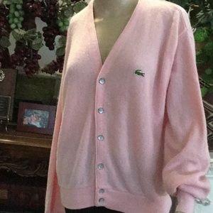 Pink genuine Lacoste cardigan